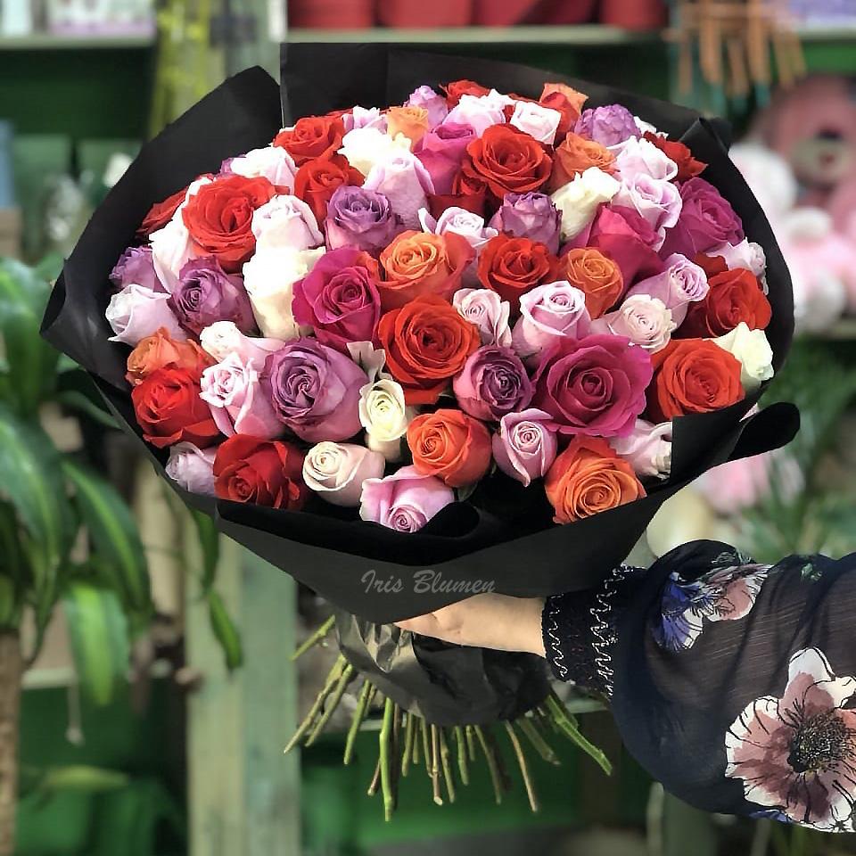 Микс 71 роза